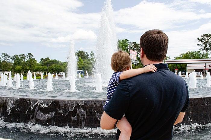 Jacksonville NC Fountain Image