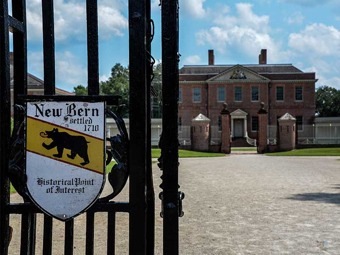 Tryon Palace New Bern NC Outside Image