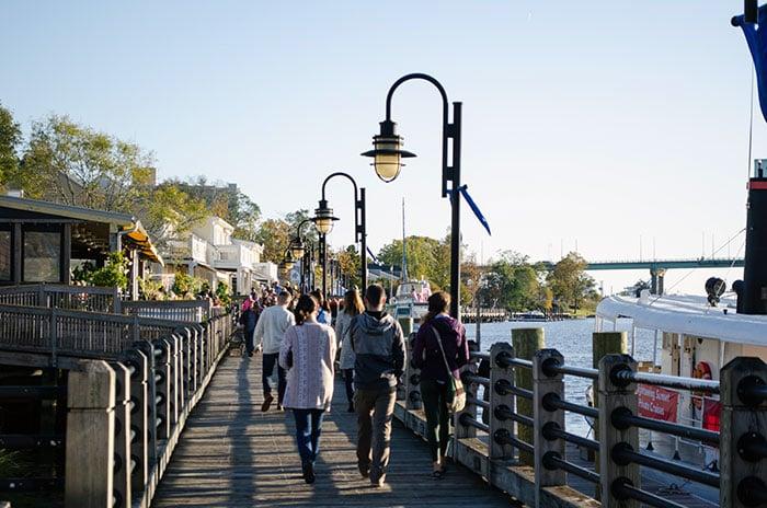 Wilmington NC Riverwalk Image