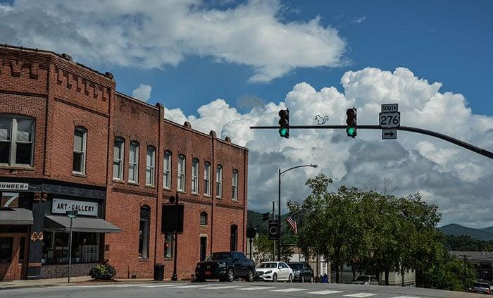 Downtown Brevard NC Image