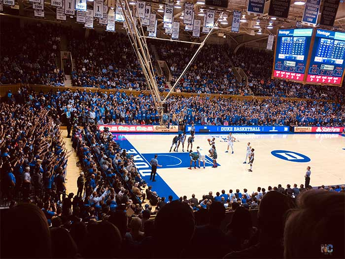 Durham NC Duke University Cameron Indoor Stadium Image