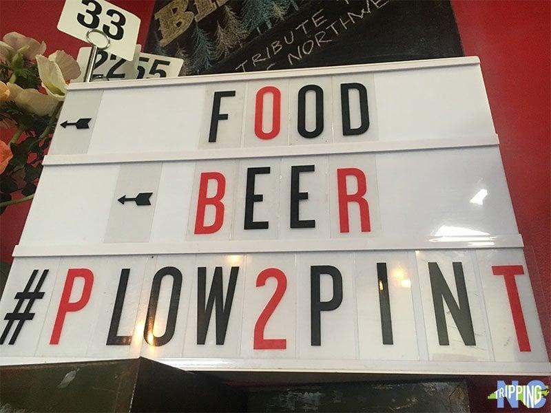 Fullsteam Brewery Plow 2 Pint Beer Durham North Carolina