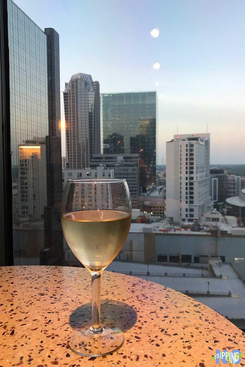 Charlotte city center hotels Hilton Charlotte Center City Executive Lounge