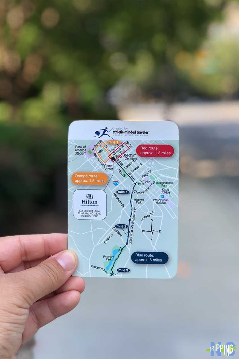 Hilton Running Route Best Hotels in Charlotte nc