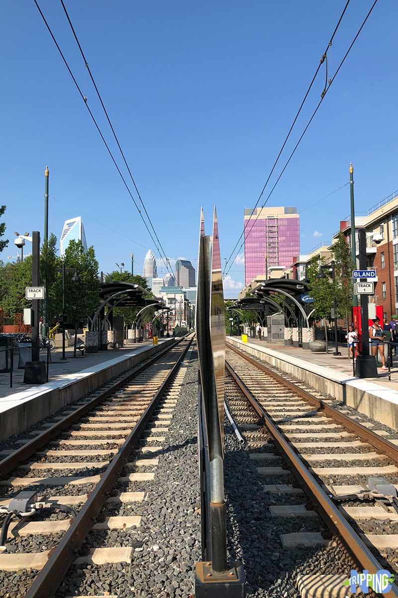 LYNX Light Rail downtown charlotte nc