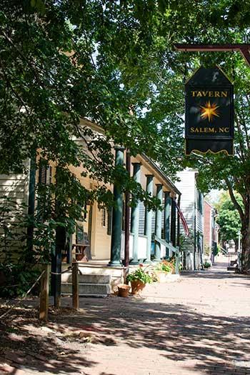 Tavern in Old Salem Winston-Salem NC Image
