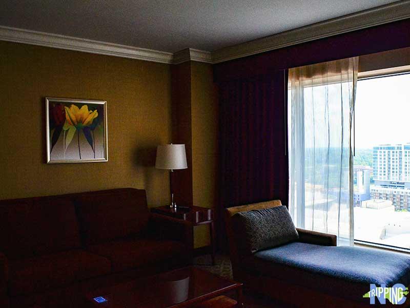 downtown Charlotte hotels Hilton Charlotte Center City