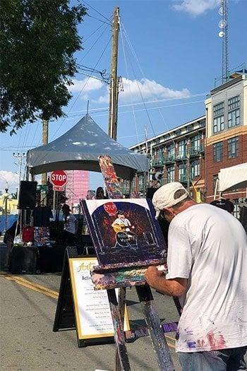 Charlotte North Carolina points of interest Historic South End