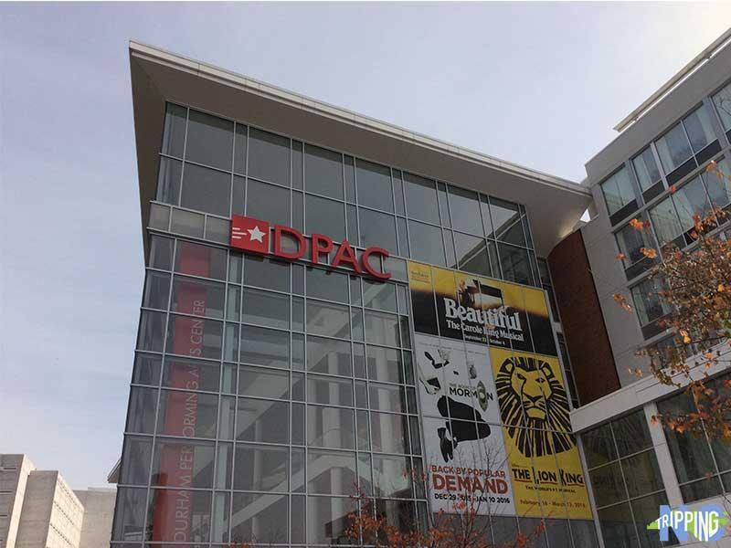 DPAC Durham Theatre NC