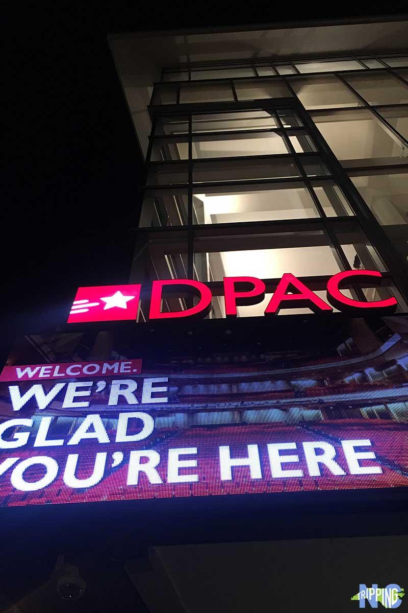 Events in Durham NC DPAC