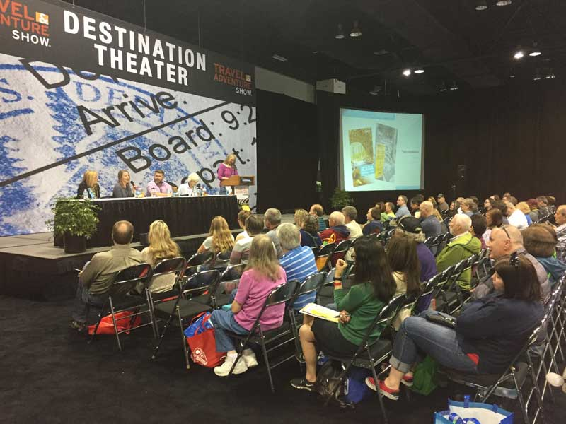 Jason Frye on Panel at Travel And Adventure Show 2018