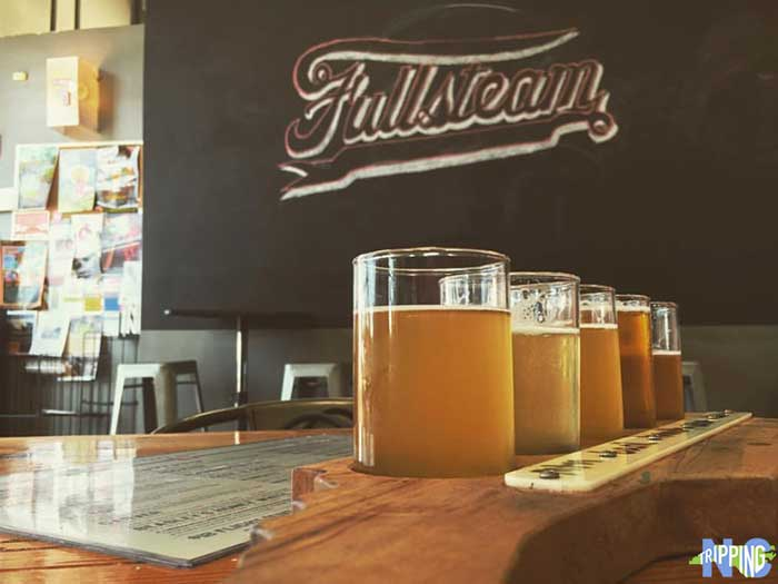 Casual Restaurants in Durham NC Fullsteam Brewery