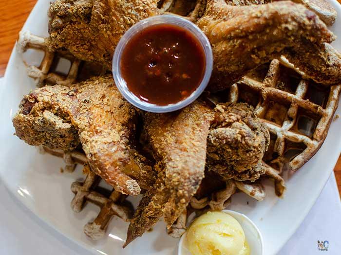 Dames Chicken and Waffles Durham NC Restaurants Image