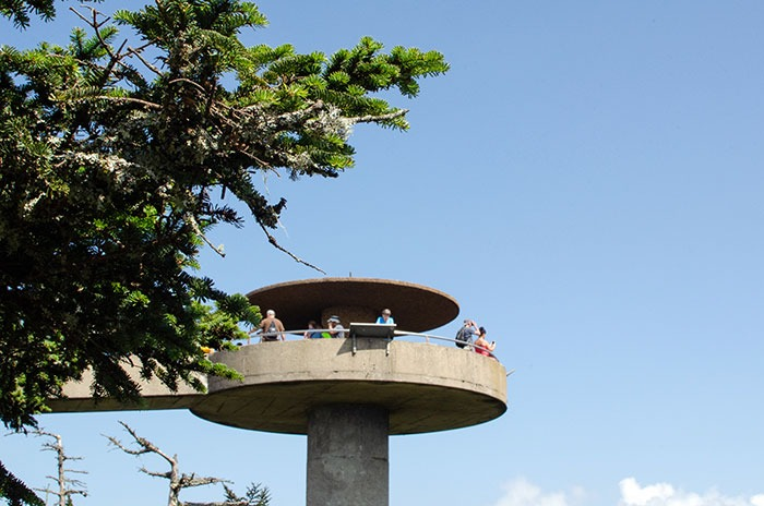 Clingmans Dome Observation Tower NC