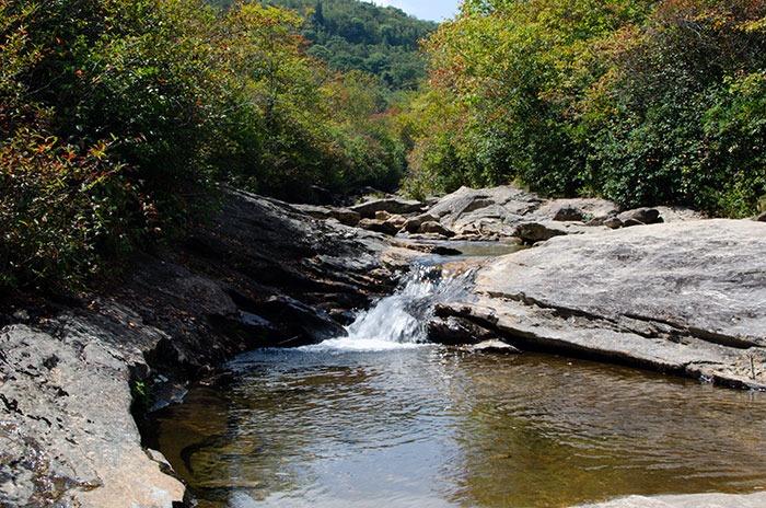 Graveyard Fields Waterfall
