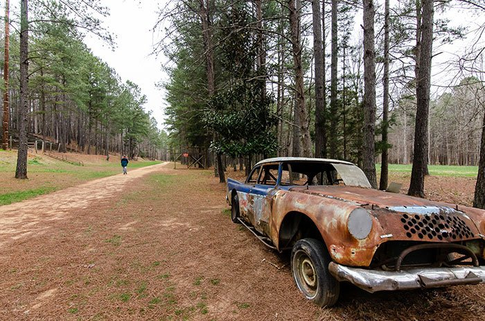 Occoneechee Speedway Trail and Car