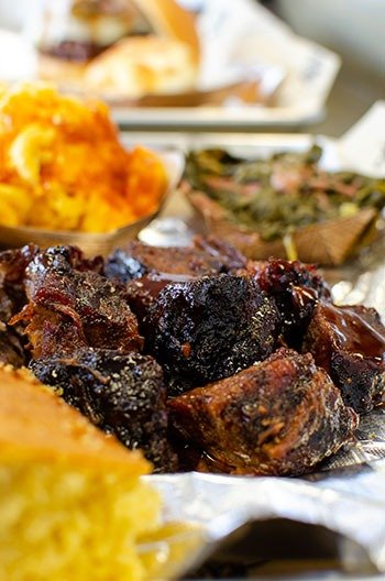Restaurants in Benson NC Redneck BBQ Lab Burnt Ends Image