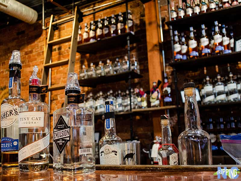 Things to do in Greensboro NC Fainting Goat Spirits