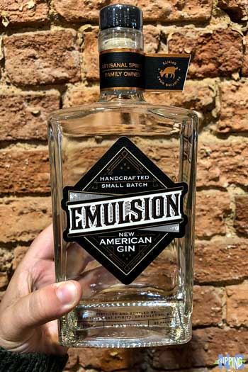 North Carolina Distilleries Fainting Goat Spirits Emulsion Gin