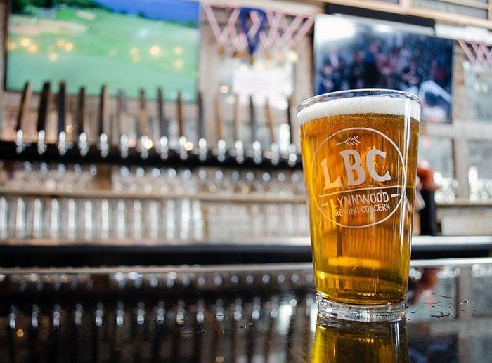 Beer at Lynnwood Brewing Concern Raleigh NC