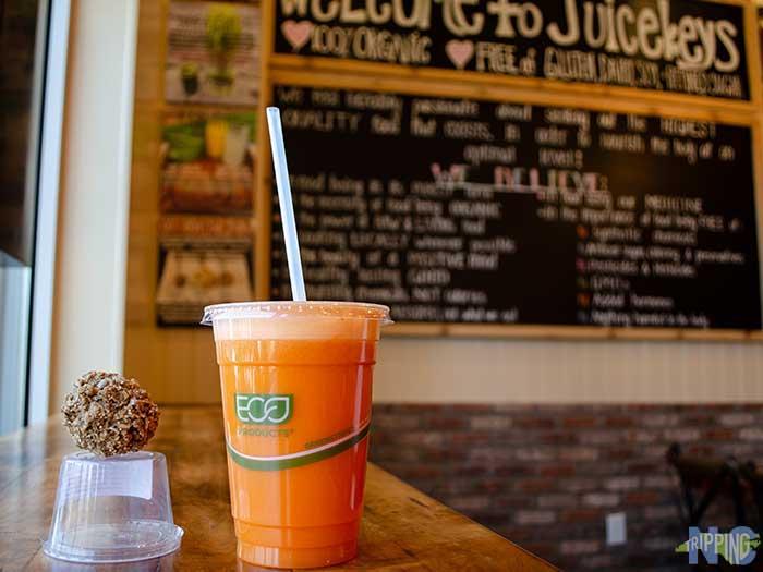Lafayette Village Raleigh NC Food Juice Keys Image