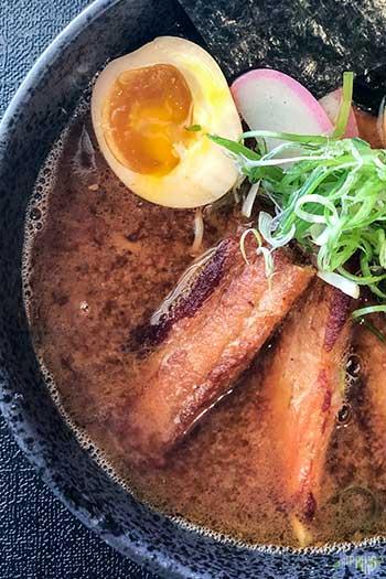 Lafayette Village Raleigh North Carolina Food Zanyu Noodles Image
