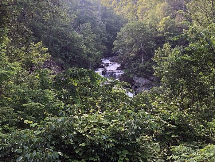 Cullasaja Falls near Highlands NC