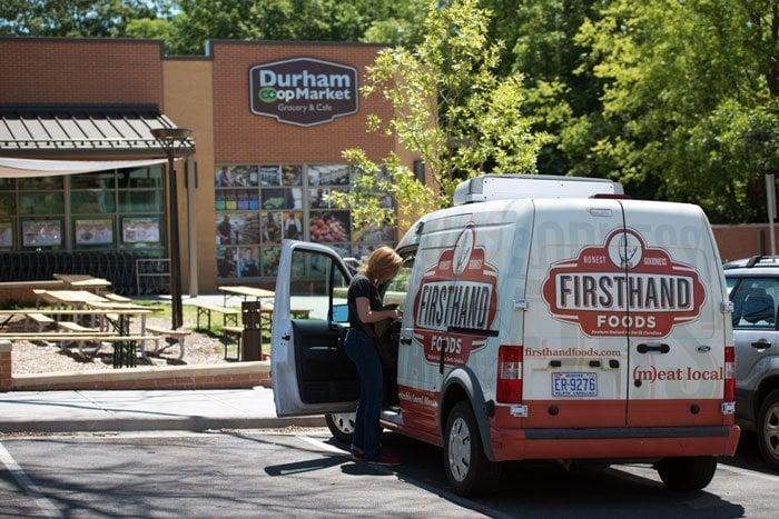 Firsthand Foods Jennifer Curtis Delivering Food Image by Splinter Group