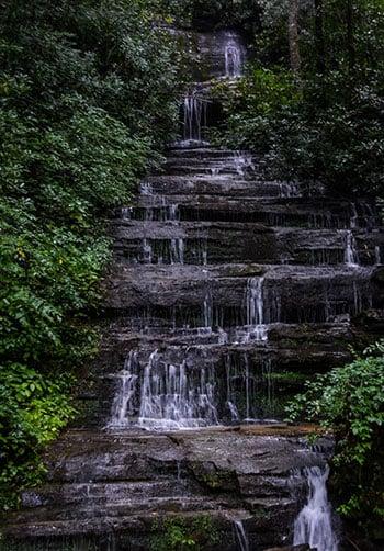 Key Falls near Brevard NC