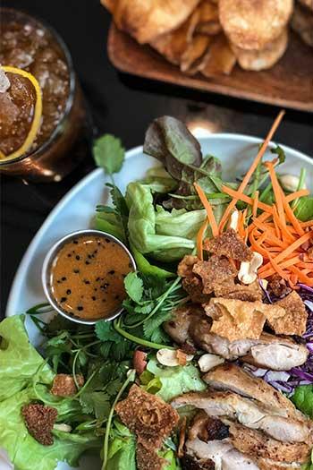The Durham Hotel North Carolina Travel Guide Claras Chicken Salad Image