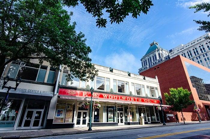 International Civil Rights Center Greensboro NC Museums