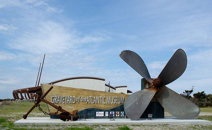 Museums in North Carolina Graveyard of the Atlantic Museum Hatteras