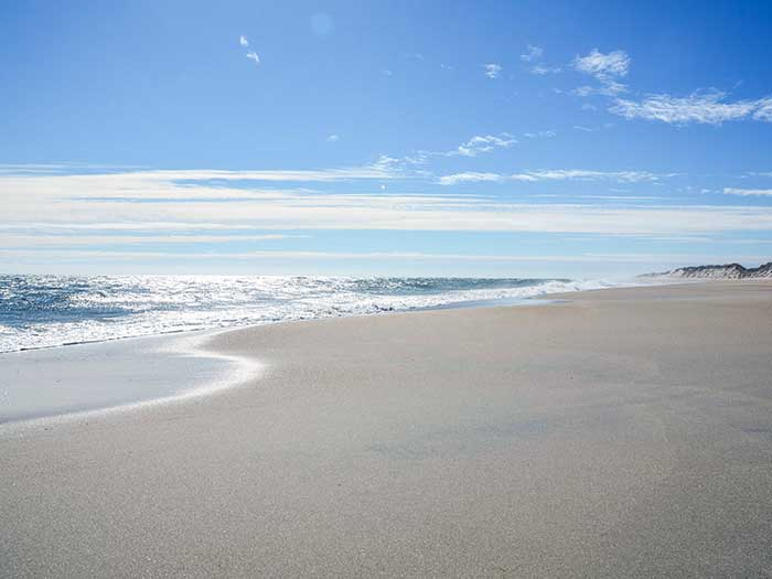 Off Season Things to Do in the Outer Banks Hatteras Beach Image