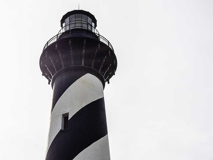 Outer Banks NC Things to Do Hatteras Lighthouse Image