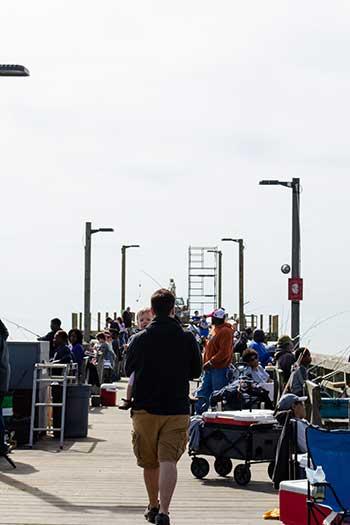Surf City NC Surf City Ocean Fishing Pier Image