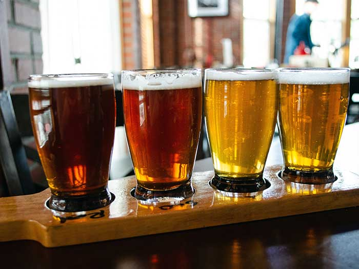 Things to Do in North Carolina in April NC Beer Month Lost Colony Brewery Outer Banks Image