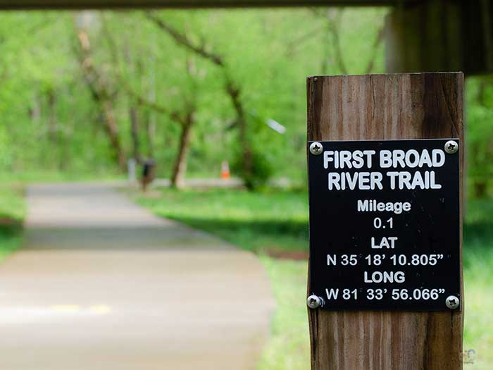 Things to Do in Shelby NC First Broad River Trail Image