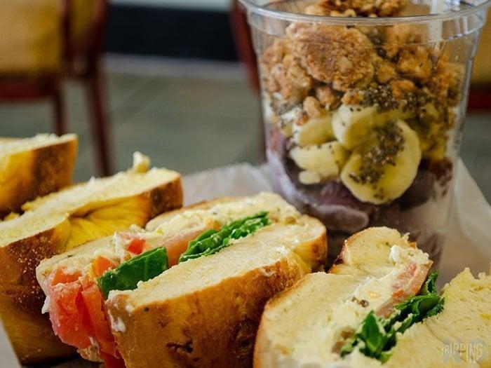 Best Breakfast Restaurants in North Carolina Barrier Island Bagels Image