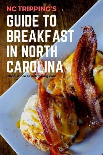 Best Breakfast Restaurants in North Carolina Pinterest Image