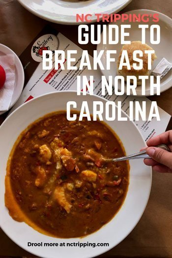 Best Restaurants in North Carolina for Breakfast Pinterest Image