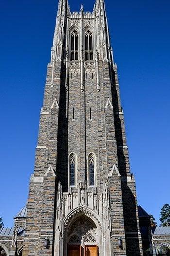 Durham Attractions Duke University Chapel Image