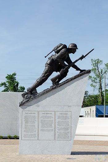 Jacksonville NC Montford Point Marine Memorial Image