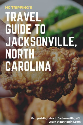Jacksonville NC Things to Do on a Weekend Pinterest Image