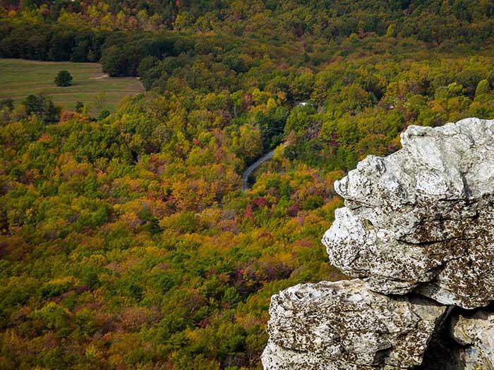 Best Trails at Hanging Rock State Park Moores Knob Image