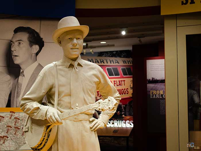 Earl Scruggs Center Shelby NC Downstairs Image