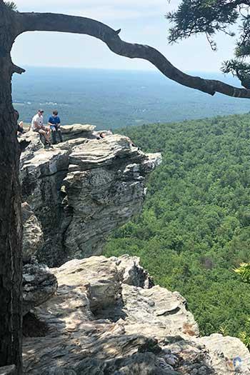 Hanging Rock State Park NC Hanging Rock Trail Image