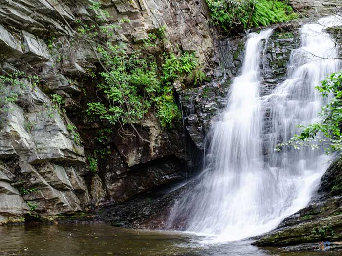 Hanging Rock State Park Waterfalls Lower Cascades Image