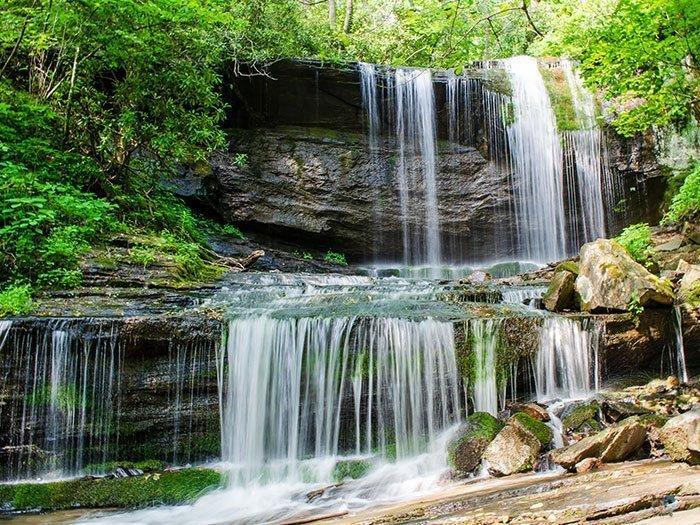 Little Switzerland NC Grassy Creek Falls Image