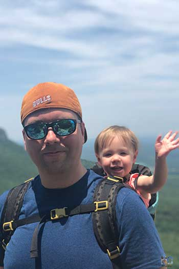 NC State Parks Family Hiking Image