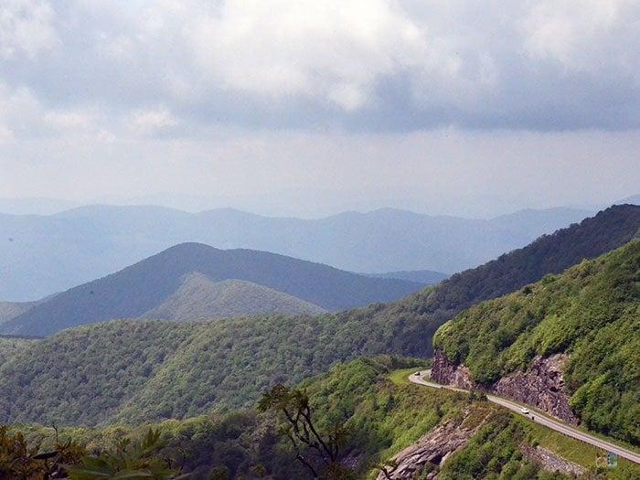Blue Ridge Parkway NC Travel Image